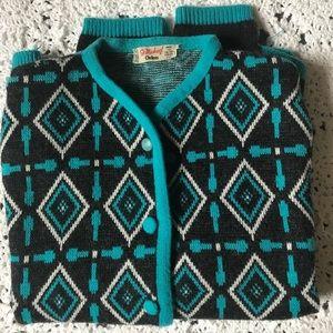 Vintage Girls Sweater
